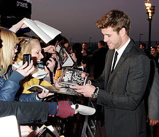 Liam Hemsworth went hungry for 'Hunger Games'