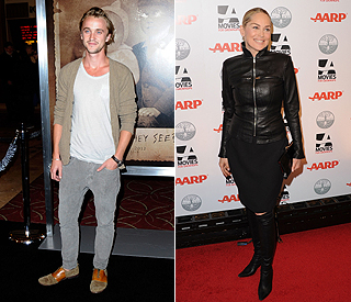 'Harry Potter's Tom Felton 'Attached' to Sharon Stone