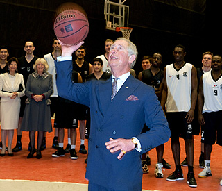Prince Charles has a ball in Sweden