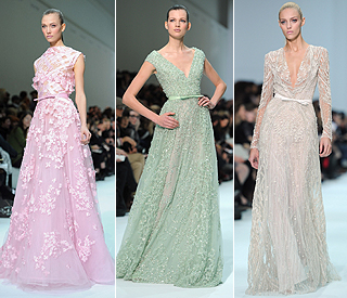 Elie Saab brings fairytale touch to bridal wear
