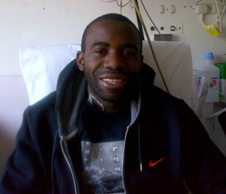 Remarkable recovery: Fabrice Muamba tweets pic