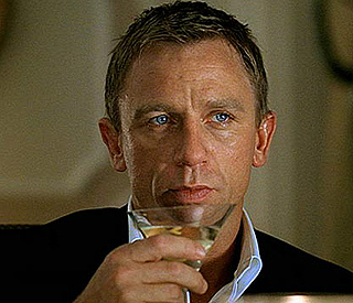 James Bond swapping trademark Martini for beer