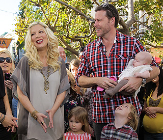 Tori Spelling: 'New pregnancy was a surprise'