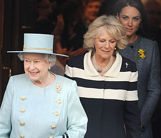 Queen honours Camilla on wedding anniversary