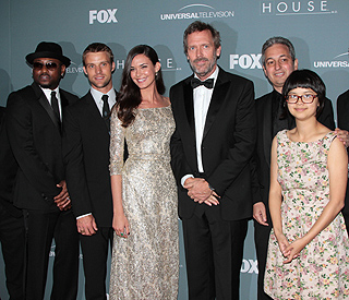 Hugh Laurie's emotional goodbye at 'House' wrap party