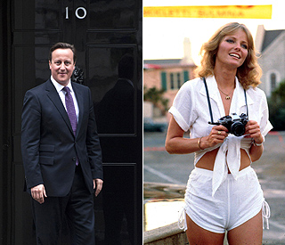 David Cameron: Cheryl Tiegs was my celeb crush