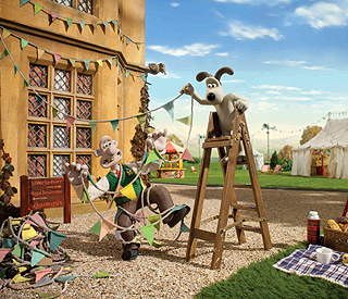 Wallace and Gromit celebrate Diamond Jubilee
