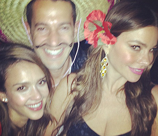 Jessica Alba celebrates her Mexican roots with Sofia