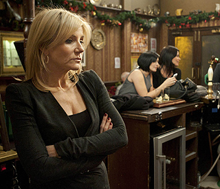 Michelle Collins denies quitting Coronation Street