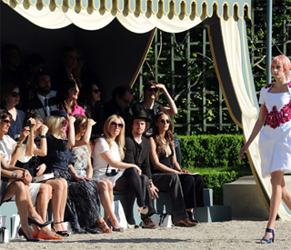 Karl conjures up opulent Chanel show