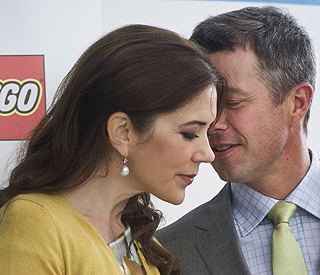 Princess Mary shares a tender moment with Frederik