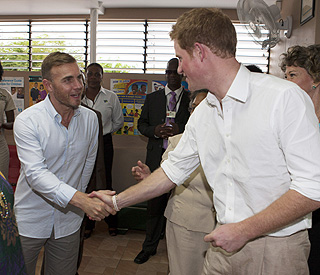 Harry teams up with Gary Barlow on Jubilee song