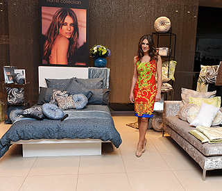 In bed with Elizabeth: star launches linen range
