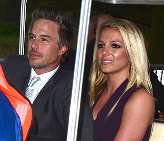 Britney's X Factor makes fiancé Jason 'proud'