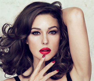 Monica Bellucci on why lipstick is a woman's weapon