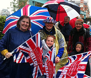 Weather set to improve for Jubilee Pageant