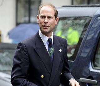 Prince Edward says Duke of Edinburgh is 'much better'
