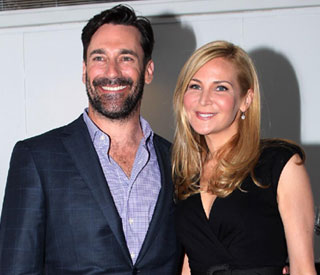 Jon Hamm and girlfriend 'bonded' over latest film