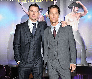 Channing Tatum: 'Stripping is scary!'