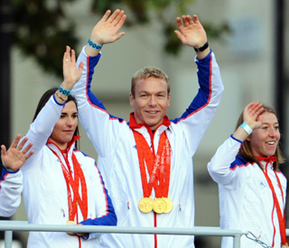 Sir Chris Hoy chosen as Olympic flag bearer