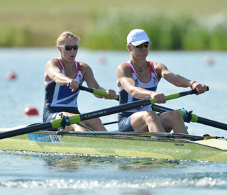 GB Rowers going for Britain's first gold