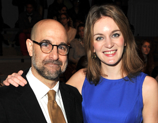 Stanley Tucci marries Emily Blunt's sister
