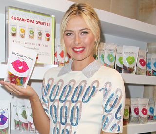 Maria Sharapova launches her own range of sweets