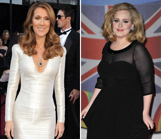 Celine Dion: I love everything about Adele