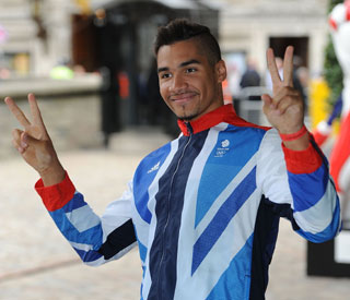 Louis Smith appears on the Million Pound Drop