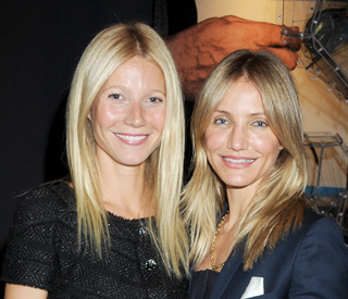 Cameron and Gwyneth spotted at wedding show