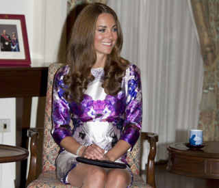Kate's Prabal tour dress sells out within an hour