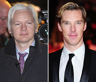 Benedict Cumberbatch to play Julian Assange