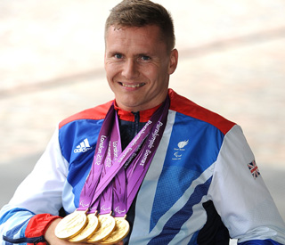 Paralympic champion David Weir welcomes baby girl