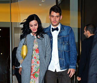 Katy and John match fancy dress for her birthday