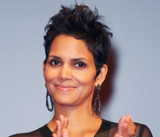 Halle Berry gets broody