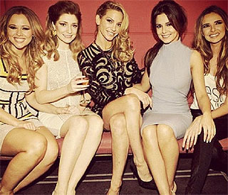 'Girls Aloud' party for Sarah and Kimberley