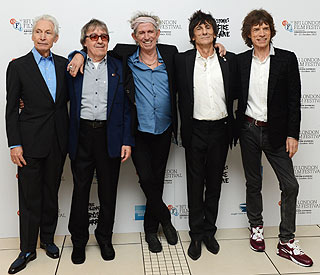 Bill Wyman joins 'The Rolling Stones' once more