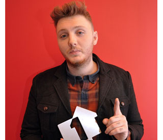 X Factor winner James Arthur tops UK chart