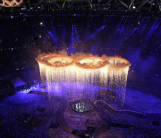 Olympic opening ceremony top TV moment