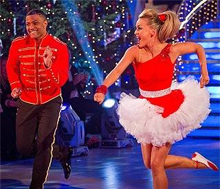 JLS star wins 'Strictly' Christmas special
