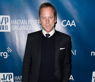 Kiefer Sutherland named Pudding Man of the Year