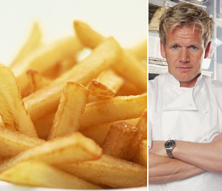 Steaming hot: Gordon Ramsay's delectable chips