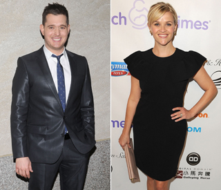 Michael Buble joined by Reese Witherspoon on new album