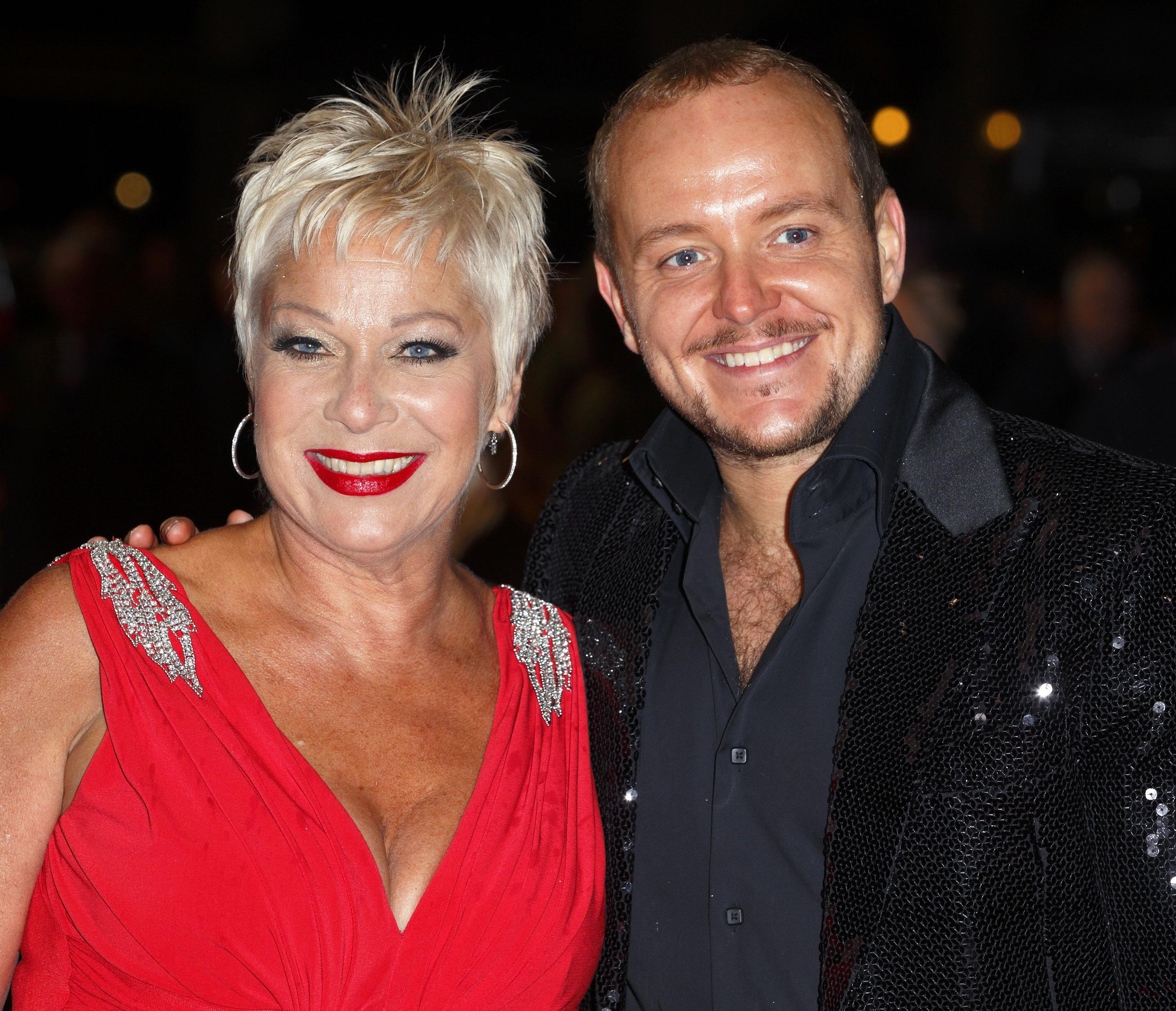 Denise Welch's wedding back on