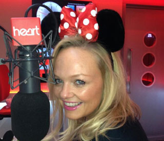 Emma Bunton going to Disneyland?