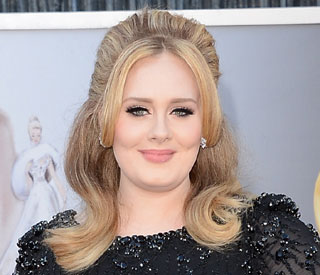 Adele not currently working on album