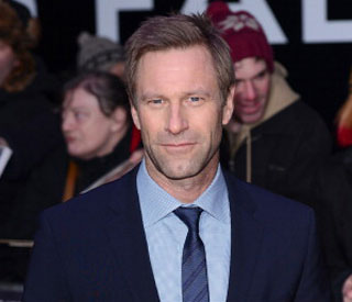 Aaron Eckhart daunted by acting alongside Morgan Freeman