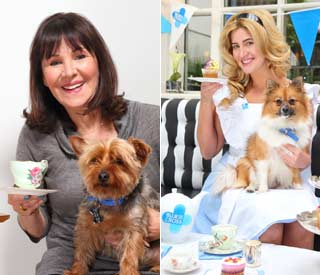 Arlene Phillips and Cheska Hull launch Blue Cross campaign