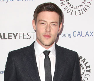 Cory Monteith celebrates his birthday in style