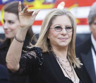Barbra Streisand to receive honourary degree